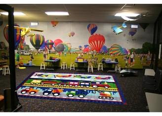 """Fun Rugs Fun Time Trans America Kids Rugs 39"""" x 58"""" Rug"""
