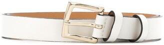 Semi-Couture Slim Leather Belt