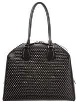 Alaia Grommet Doctor Bag