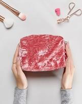 Asos Lifestyle Soft Velvet Make Up Bag