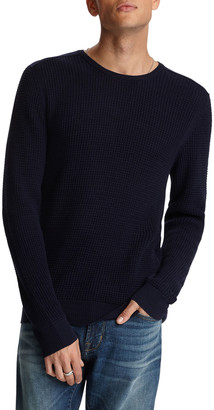 John Varvatos Men's Davidson Waffle-Knit Shirt