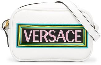 Versace Printed Logo Shoulder Bag