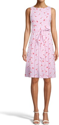 Anne Klein Floral Fit & Flare Dress
