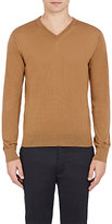 Lanvin Men's Cashmere V-Neck Sweater