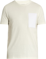 Maison Margiela Patch-appliqué crew-neck cotton T-shirt
