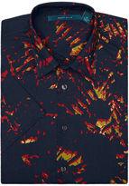 Perry Ellis Short Sleeve Exclusive Acid Print Shirt