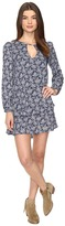 Brigitte Bailey Dariya Long Sleeve Keyhole Dress