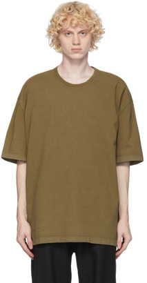 Maison Margiela Beige Garment Dye T-Shirt