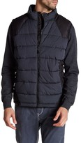Robert Graham Stratford Tailored Fit Woven Puffer Vest