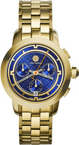 Tory Burch The Tory gold-toned stainless steel chronograph watch