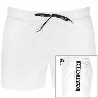 HUGO BOSS Samoa Swim Shorts White