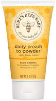 Burt's Bees Baby Bee Cream To Powder, 4 oz