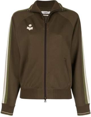 Etoile Isabel Marant zip front logo track jacket