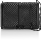Rebecca Minkoff Chevron Quilted Jumbo Love Crossbody Bag