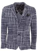 BOB Strollers Men's Multicolor Cotton Blazer.