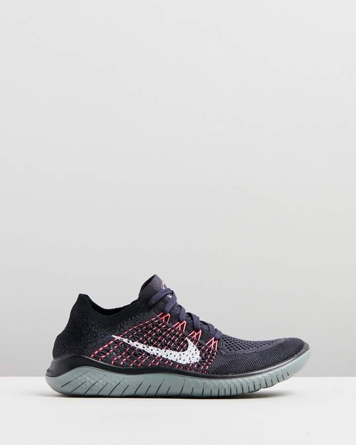Nike Free Run Flyknit 2018 Running Shoes - Women's