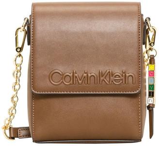 Calvin Klein H9JEZMX1_WAL Cube Double Handle Satchel