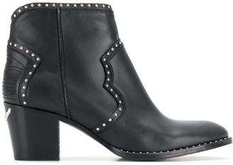 Zadig & Voltaire Molly studded boots