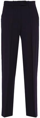 Victoria Victoria Beckham Crystal-embellished Satin-crepe Wide-leg Pants