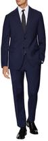 Armani Collezioni Abito Checkered Notch Lapel Suit