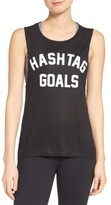 Private Party Women's Hashtag Goals Tank