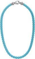Lagos Blue Caviar Ceramic Rope Necklace