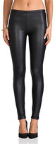 Plush Liquid Legging in Black. - size L (also in XS)