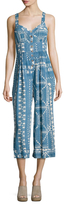 Plenty by Tracy Reese Pleated Print Jumpsuit
