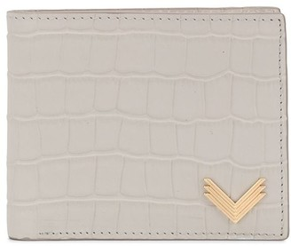 Manokhi Crocodile-Effect Wallet