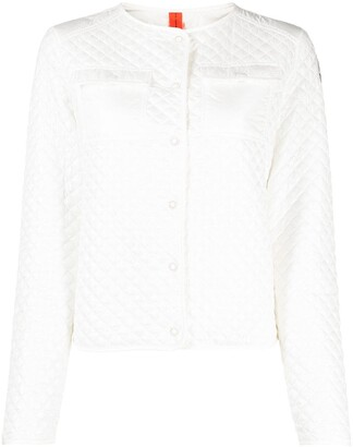 Parajumpers Delice quilted stitching jacket