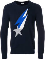 Closed shooting star sweater