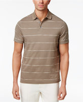 Tasso Elba Men's Stripe Cotton Polo