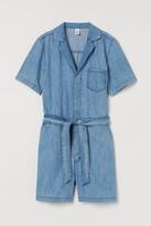 Thumbnail for your product : H&M Short denim boiler suit