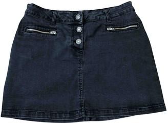soeur Black Denim - Jeans Skirt for Women