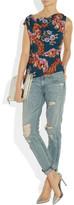 Vivienne Westwood Alto floral-print crepe top