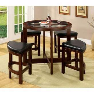 Darby Home Co Fellman 5 Piece Counter Height Dining Table Set Darby Home Co