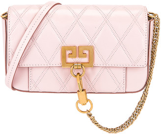 Givenchy Mini Pocket Chain Bag in Pink | FWRD