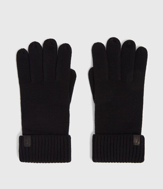 AllSaints Merino Gloves