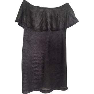 American Retro Metallic Dress for Women