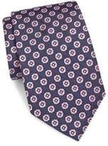 Saks Fifth Avenue Embroidered Textured Tie