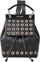 Karl Lagerfeld K/Eyelet backpack