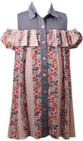 Bonnie Jean Cold Shoulder Party Dress - Big Kid Girls