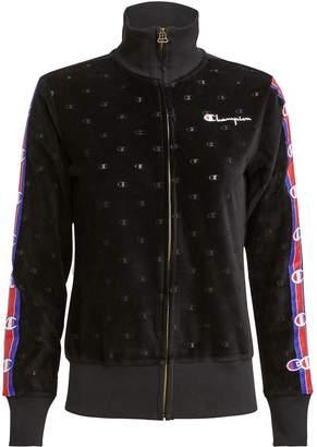 Champion Velour Track Zip Jacket