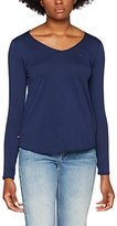Tommy Hilfiger Women's Thdw Basic VN Knit L/S 15 Long Sleeve Top