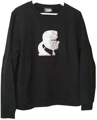 Karl Lagerfeld Paris Black Cotton Knitwear for Women