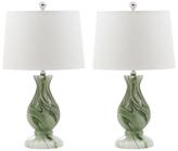 Safavieh Eleanor Faux Marble Lamps (Set of 2)