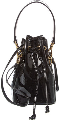 Fendi Mon Tresor Mini Monogram Patent Bucket Bag