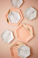 BHLDN Hexagonal Paper Plates (8)