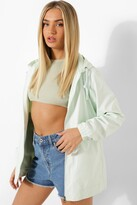 Thumbnail for your product : boohoo Hooded Festival Mac