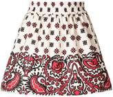 RED Valentino bandana gathered skirt